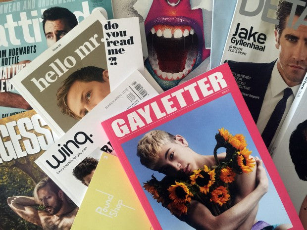 5 Gay Magazines You Should Be Reading