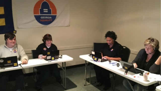 Georgia Unites Against Discrimination Kicks Off 2016 Phone Banks