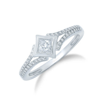 STARRA™ 1/3 CT.TW. DIAMOND Fashion Ring