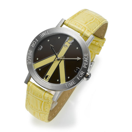 Yellow and Brown Watch