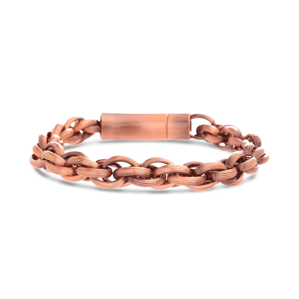 Stainless Steel Rolo Chain Bracelet