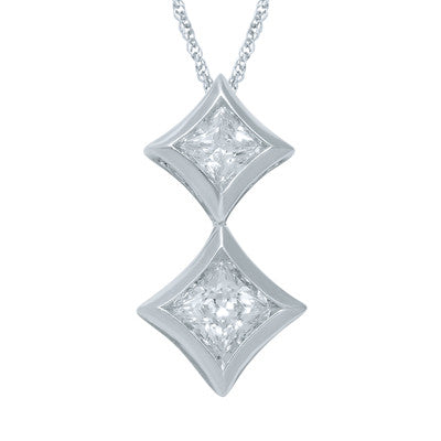 STARRA™ 1/3 CT. TW. DIAMOND PENDANT