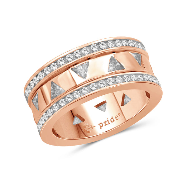 2.10 CTW 14K Rose Gold Diamond Ring