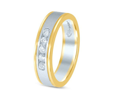 1/4CT TW TWO TONE MACHINE SET BAND