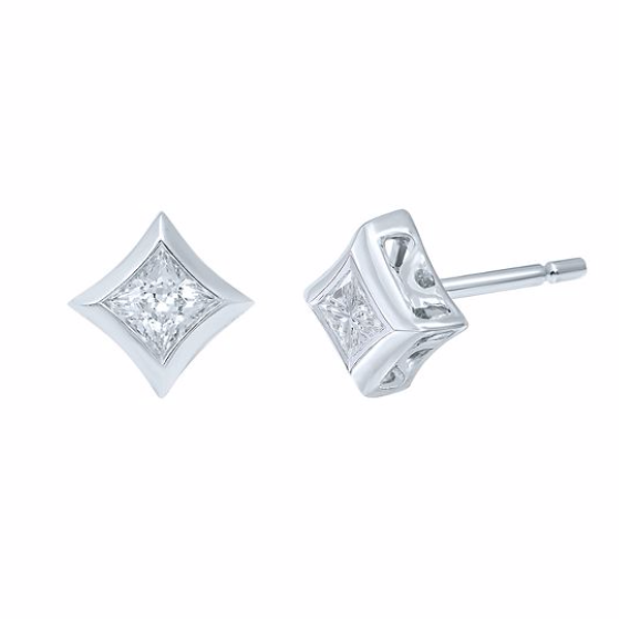 STARRA™ 1 CT. TW. DIAMOND STUD EARRINGS