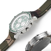 Green And Camouflage Watch
