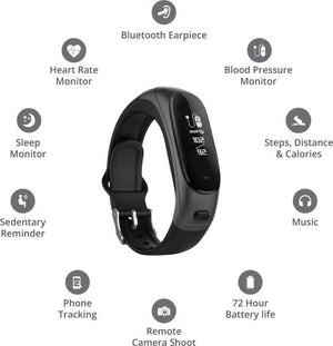 50% OFF | 2-in-1 Separate Bluetooth Headset Smart Bracelet