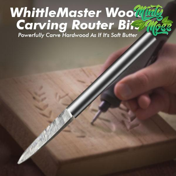 WhittleMaster Wood Carving Router Bits