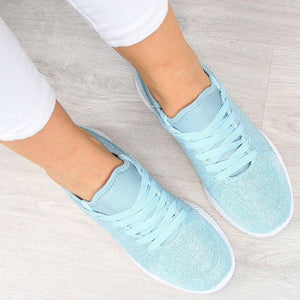 Women Casual Breathable Slip On Sneaker Shoes