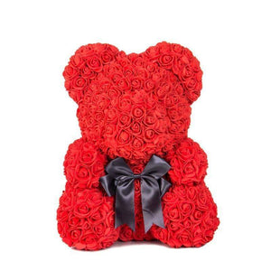 MOTHER'S DAY PRE-SALE--THE LUXURY ROSE TEDDY BEAR