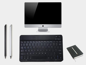 Ultra-thin portable mini wireless bluetooth keyboard