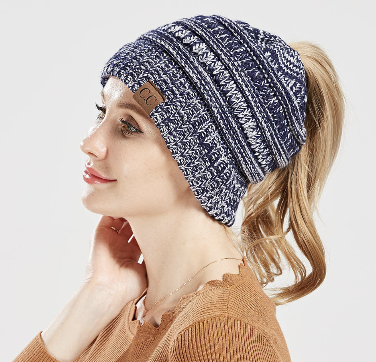 Stylish Ponytail Beanie