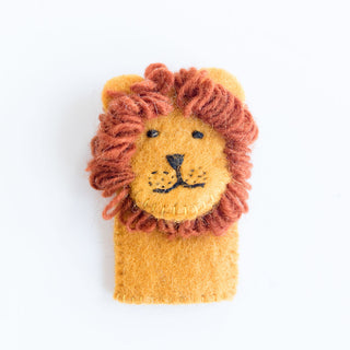 Lion Finger Pupet