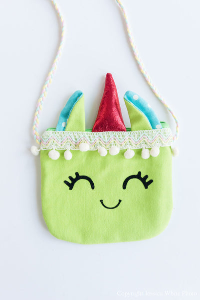 Green Unicorn Bag
