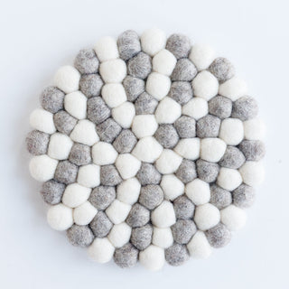Grey And White Trivet