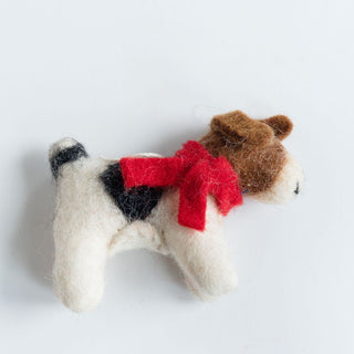 Terrier Dog Ornament