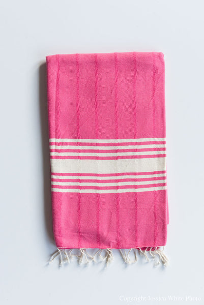 Pink Turkish Towel