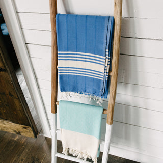 Royal Blue Turkish Towel
