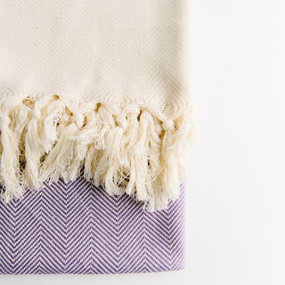 Purple Diamond Turkish Towel