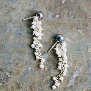 Pearl Cascading Earrings