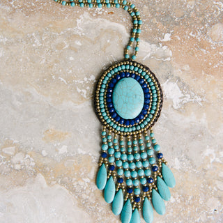 Turquoise Pendent Necklace