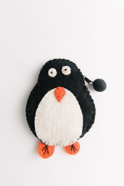 Penguin Felt Wallet