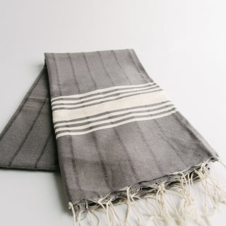 Grey Turkish Towel