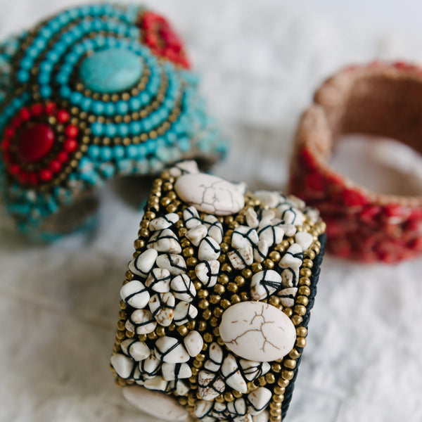 Soft Turquoise Cuff