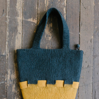 Felted Grey Bag