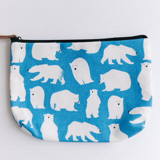 Blue Polar Bear Bag