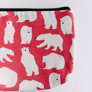 Pink Polar Bear Bag