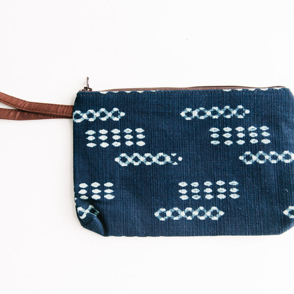 Navy Zip Bag