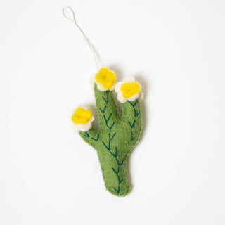Flower Cactus Ornament