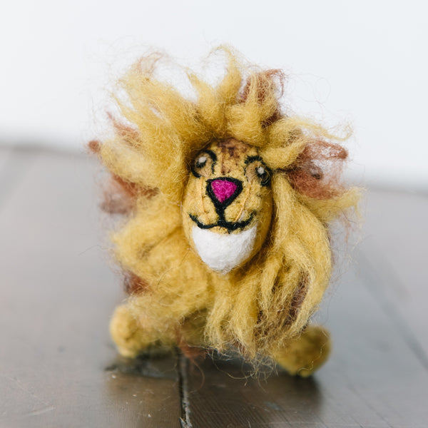 Mighty Felt Lion