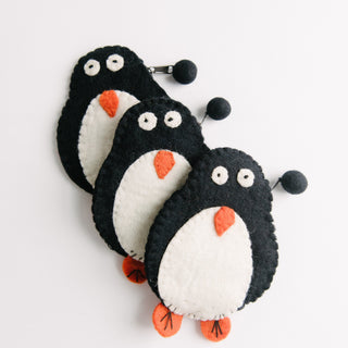 Felt Penguin Wallet