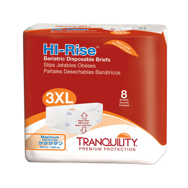 Hi-Rise Bariatric Adult Diapers