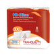 Hi-Rise Bariatric Adult Diapers, 3XL, 32 per case