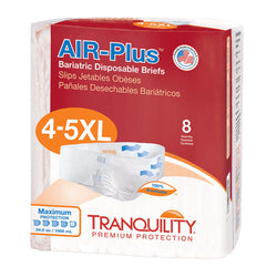 Tranquility Air Plus Adult Diapers, 4X/5X, 32 per case