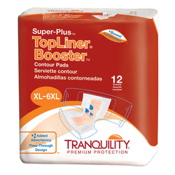 Topliner Super-Plus Contour Booster Pads, 96 per case