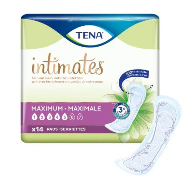 Tena Intimates Pads - Light Ultra Thin, Moderate, Maximum, Overnight