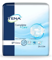 Tena Complete Plus Care Adult Diapers, Large, 72 per case, Shipping Included