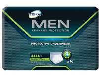 Tena Super Plus Protective Underwear for Men (Pullups), Xlg, 56 per case, Shipping Included