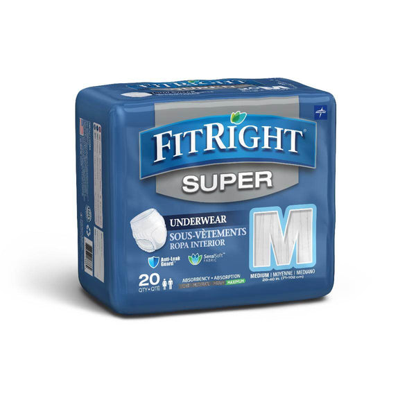 Medline FitRight Super Protective Underwear (Pullups)
