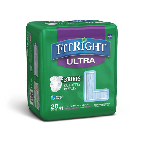 Medline FitRight Ultra Adult Diapers