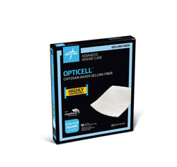 Opticell Gelling Fiber Wound Dressings, 2x2 and 4.25x 4.25