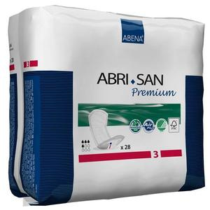 Abena Abri-San Premium Incontinence Pads, Mini 3, 28 per bag, Shipping Included