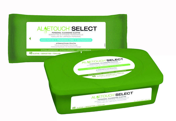 AloeTouch Select Premium Scented Spunlace Wipes
