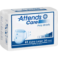 Attends Poly Adult Diapers with EZFit Tabs