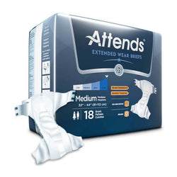 Attends Extended Wear Adult Diapers (Briefs) on Sale!