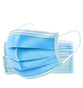 3 Ply Disposable Earloop Face Masks, 50 per Box